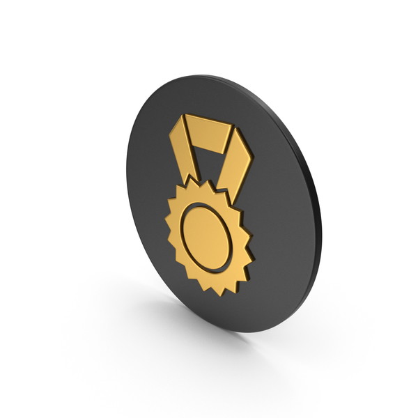 Gold Award Icon PNG & PSD Images