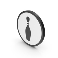 Icon Bowling Pin PNG & PSD Images