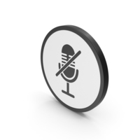 Icon Mute Microphone PNG & PSD Images