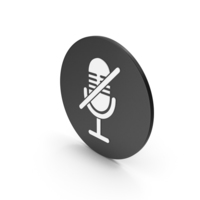 Mute Microphone Icon PNG & PSD Images