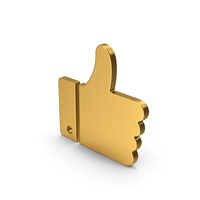 Symbol Like Gold PNG & PSD Images