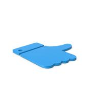 Blue Symbol Like PNG & PSD Images