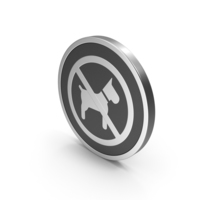 Silver Icon No Dogs PNG & PSD Images