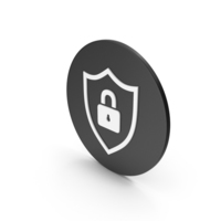 Shield Locked Icon PNG & PSD Images