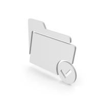 Tick Folder Symbol PNG & PSD Images