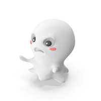Ghost Scared PNG & PSD Images