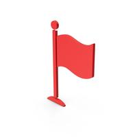 Symbol Flag Red PNG & PSD Images