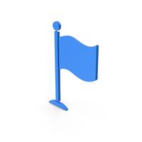 Symbol Flag Blue PNG & PSD Images