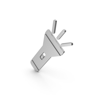 Symbol Torch Light Silver PNG & PSD Images