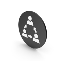 People Connection Icon PNG & PSD Images