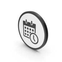 Icon Date And Time PNG & PSD Images