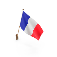 Wall Flag  of France PNG & PSD Images