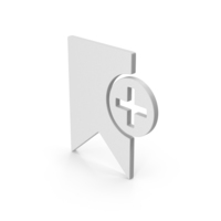 Add Bookmark Symbol PNG & PSD Images