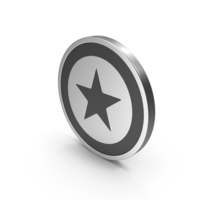 Silver Icon Star PNG & PSD Images