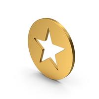 Symbol Star Gold PNG & PSD Images