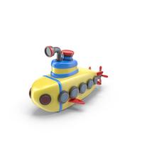 Cartoon Submarine PNG & PSD Images