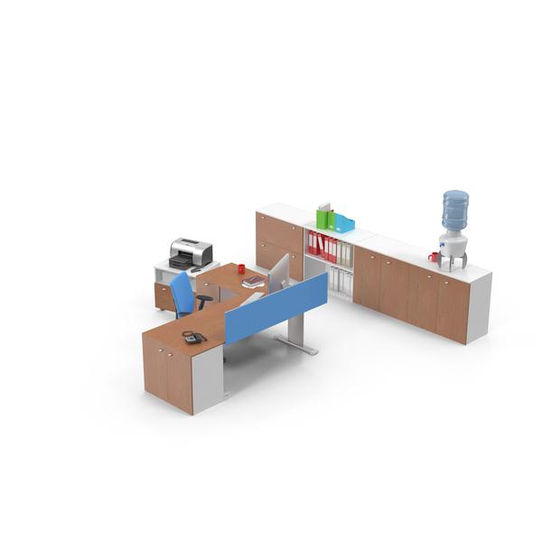 Office Workstation PNG & PSD Images