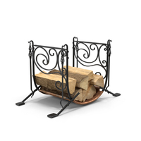 Firewood Storage Rack PNG & PSD Images