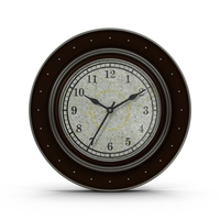 Black and Silver Clock PNG & PSD Images