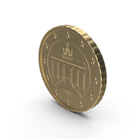 German Euro Coin 50 Cent PNG & PSD Images