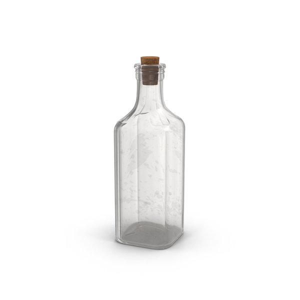 Old Glass Bottle PNG & PSD Images