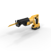 Cordless Reciprocating Saw PNG & PSD Images