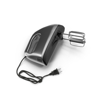 Chrome Hand Mixer  Object