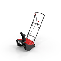 Electric Snow Blower PNG & PSD Images