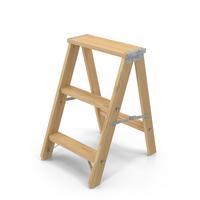 Wooden Step Ladder PNG & PSD Images