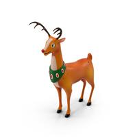 Cartoon Reindeer PNG & PSD Images
