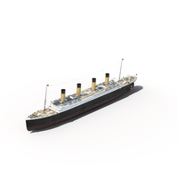 RMS Titanic PNG & PSD Images