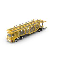 Cartoon Car Carrier Truck PNG & PSD Images