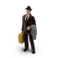 Miniature Toy Traveler Object
