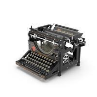 Underwood Typewriter PNG & PSD Images