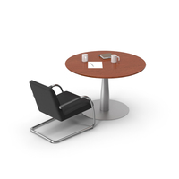 Table and Chair PNG & PSD Images