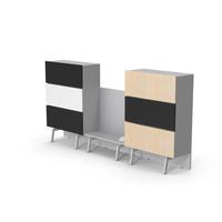 Conference Room Cabinet Set PNG & PSD Images
