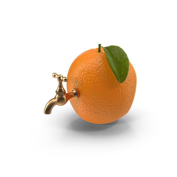 Orange Tap PNG & PSD Images