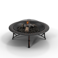 Metal Fire Pit PNG & PSD Images