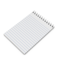 Open Pocket Memo Pad PNG & PSD Images