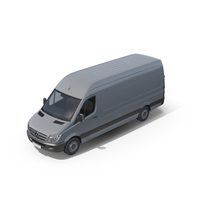 Mercedes Sprinter Van PNG & PSD Images