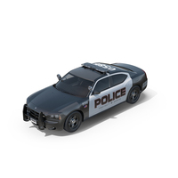 Dodge Charger Police Car PNG & PSD Images
