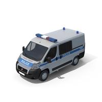 Fiat Police Van PNG & PSD Images