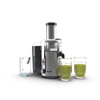Breville Juice Fountain Multi-Speed Juicer PNG & PSD Images