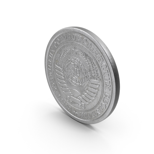 1 Ruble Coin PNG & PSD Images