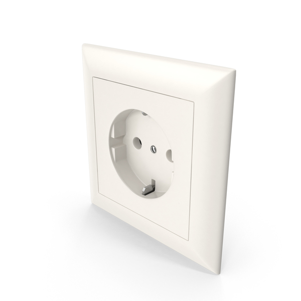 1 Wall Socket Outlet Beige PNG & PSD Images