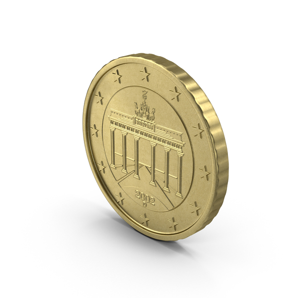 10 Cent Euro Coin Object