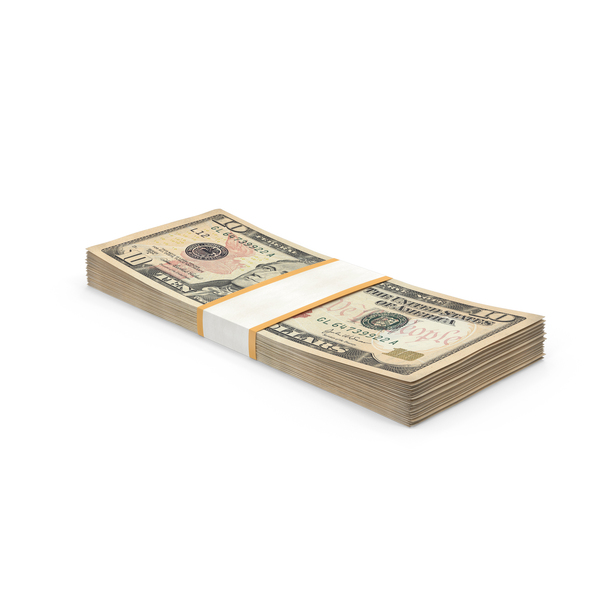 10 Dollar Bill Pack Object