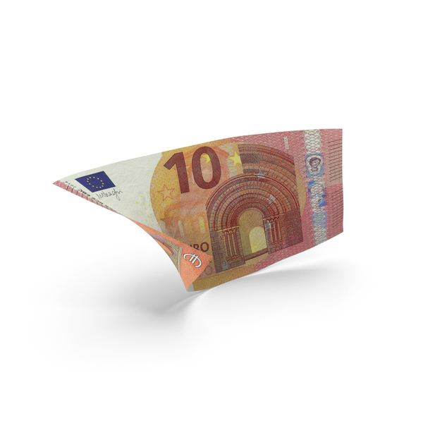 10 Euro Banknote Bill PNG & PSD Images