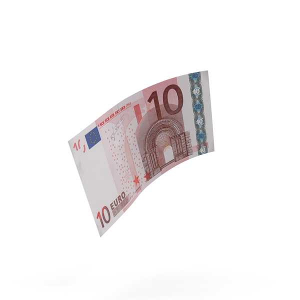 10 Euro Bill PNG & PSD Images