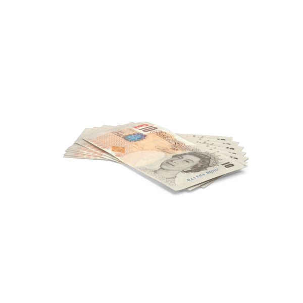 English Banknote: 10 Pound Note PNG & PSD Images